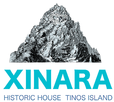 Xinara House Tinos Greece logo